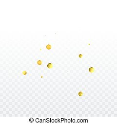 arany, konfetti, celebration.