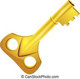 arany-, kulcs