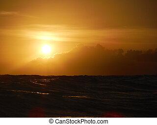 arany- naplemente