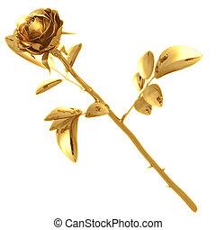aranyozott, 01, rózsa