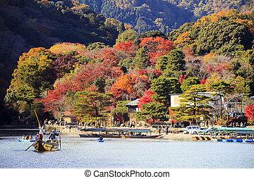 arashiyama, 京都