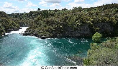 Aratiatia Rapids Waikato Rive Taupo - Landscape of Aratiatia...