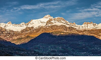 Aravis Mountain Range, France