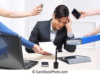 arbeit, verantwortungen, e-mails, phon