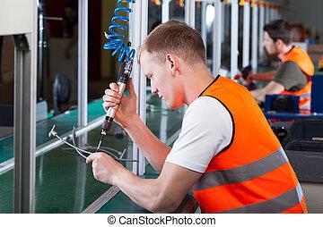 arbeiter, produktion