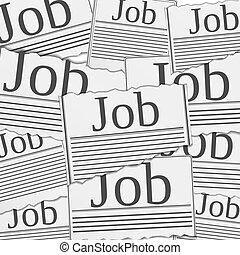 arbejde, begreb, søgen