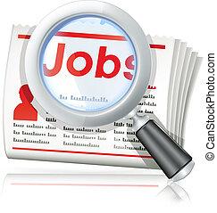 arbejde søgen