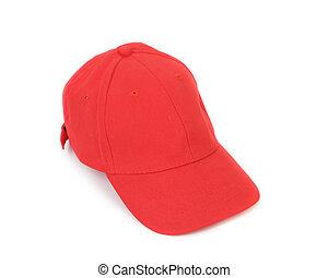 arbejder, peaked, cap.