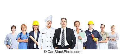 arbejdere, folk