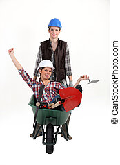 arbetare, kvinnlig