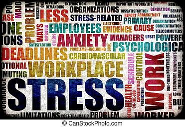 arbete stressa