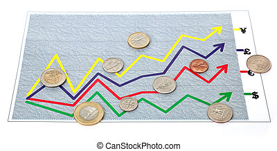 "exchange rate - arbitrary chart (diagram) ""exchange rate\""..."