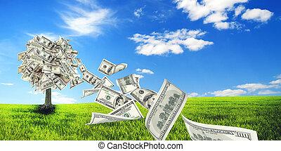 arbol dinero