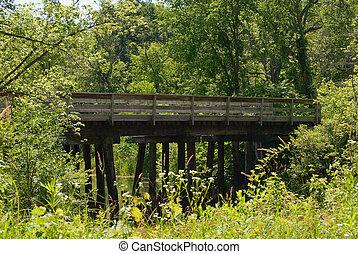 arbolado, puente