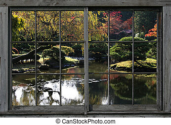 arboretum 43 - Fall at the Arboretum,Japanese Garden,in...