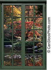 Arboretum 45 - Fall at the Arboretum,Japanese Garden,in...