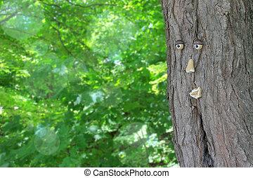arbre, à, a, figure