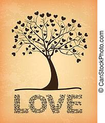 arbre, amour