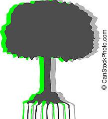 arbre, art