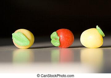 arbre, candys