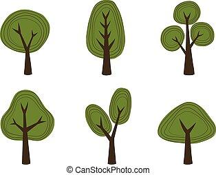 arbre, collection, v3