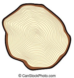 arbre., coupure