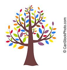 arbre, créatif