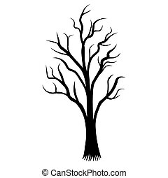 silhouette noir racines arbre tatouage silhouette arbre illustration vecteur noir racines. Black Bedroom Furniture Sets. Home Design Ideas
