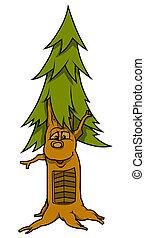 arbre, figure