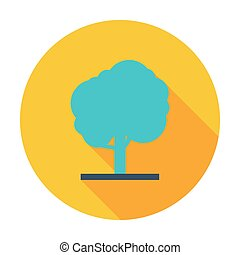 arbre, icône