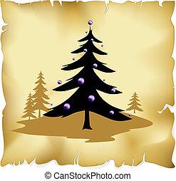arbre noël, résumé
