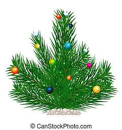 Boule de neige vacances arbre no l arbre boule de - Arbre boule de neige ...