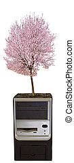 arbre, unité centrale traitement