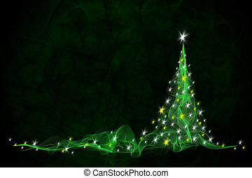 arbre vert, noël, fond