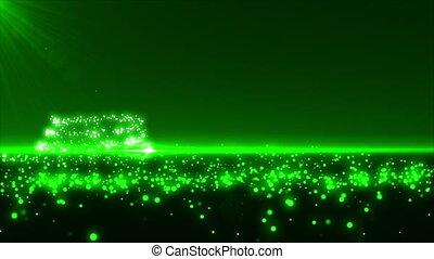 arbre vert, noël