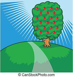 arbre, vue