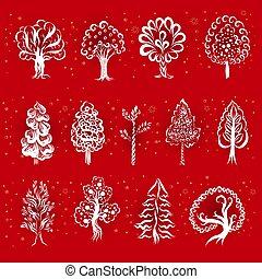 arbres, icônes