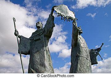Arbroath Declaration Monument - The Declaration Monument in...
