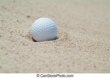 arcón, pelota golf