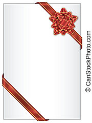 arc, arrière-plan rouge
