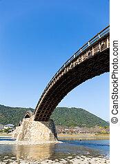 Arc bridge in Japan