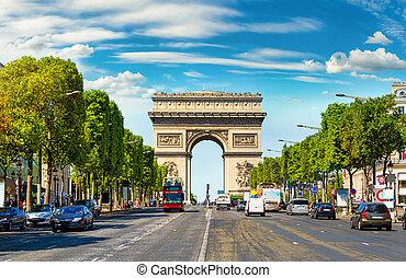 Arc de Triomphe in France