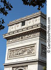 Arc de triomphe in Paris - France