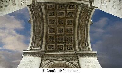 Arc de Triomphe, Paris, France, Central Europe