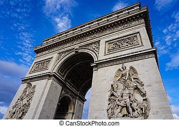 Arc de Triumph in Paris France