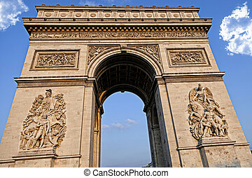 Arc de Triumph, in Paris