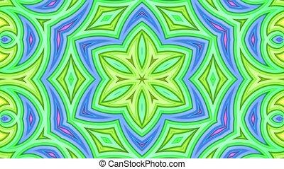 arc-en-ciel, fait boucle, cyclically, 4k., résumé, mouvement, lisser, raies, multicolore, géométrie, simple, clair, seamless, fond, 3d, dessin animé, créatif, style., animation., kaléidoscope