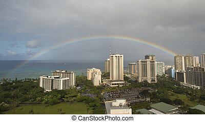 arc-en-ciel, hawaï