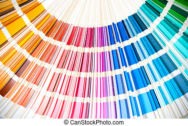 arc-en-ciel, swatches, projection, coloré, couleurs, livre,...