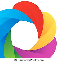arc-en-ciel, vecteur, 10, gradient, vibrant, résumé, eps, multicolore, arrière-plan., maille